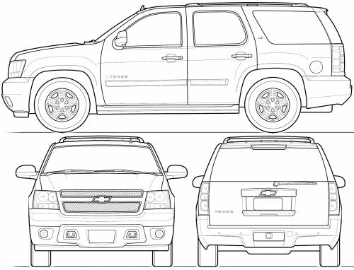 dimensions of a chevrolet tahoe