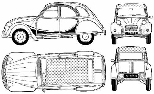 The blueprints blueprints cars citroen citroen 2cv citroen 2cv charleston malvernweather Images