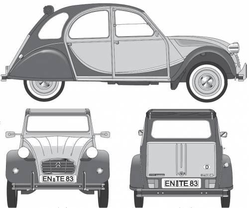 The blueprints blueprints cars citroen citroen 2cv citroen 2cv charleston 1985 malvernweather Images