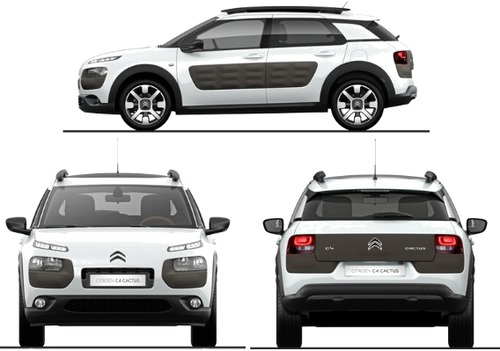 blueprints cars citroen citroen c4 cactus 2014. Black Bedroom Furniture Sets. Home Design Ideas