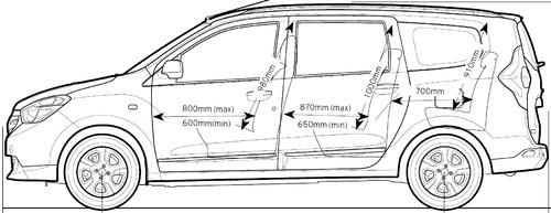 Blueprints cars dacia dacia lodgy dci 2015 dacia lodgy dci 2015 malvernweather Choice Image