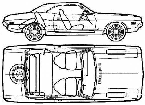 blueprints  u0026gt  cars  u0026gt  dodge  u0026gt  dodge challenger  1972