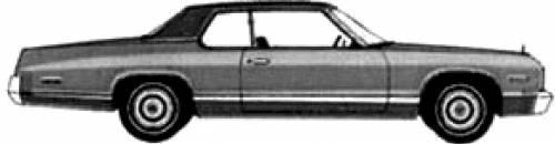 blueprints cars dodge dodge monaco brougham 2 door hardtop 1974. Black Bedroom Furniture Sets. Home Design Ideas