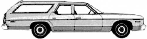 blueprints cars dodge dodge monaco custom station wagon 1974. Black Bedroom Furniture Sets. Home Design Ideas