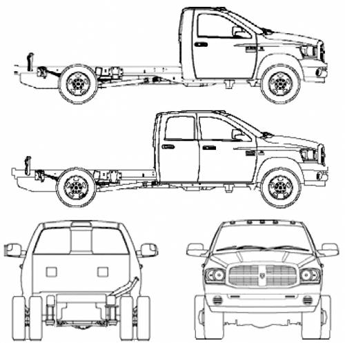 blueprints  u0026gt  cars  u0026gt  dodge  u0026gt  dodge ram 3500 hd  2006