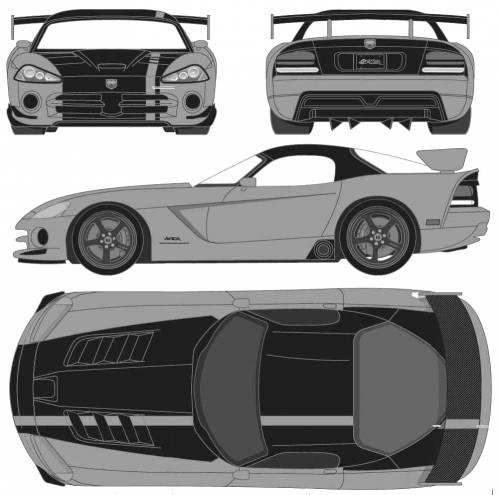 Dodge Viper Srt 2009. Dodge Viper SRT10 ACR (2009)