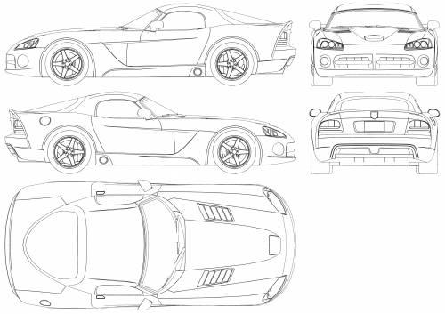 Worksheet. TheBlueprintscom  Blueprints  Cars  Dodge  Dodge Viper SRT