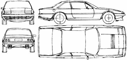 The-Blueprints.com - Blueprints > Cars > Ferrari > Ferrari 412i (1986)