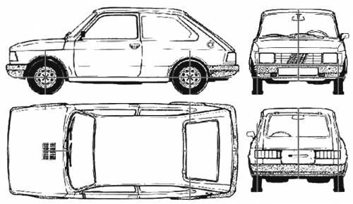 Fiat 147 Spazio 1.4 (1994)