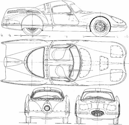 vw beetle blueprints