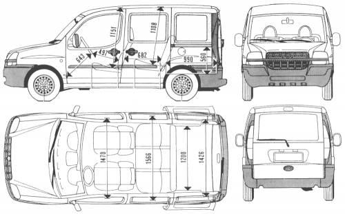 the blueprints cars fiat fiat doblo. Black Bedroom Furniture Sets. Home Design Ideas