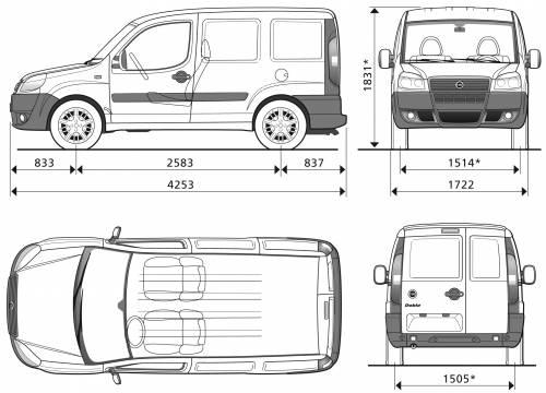 Fiat Doblo Cargo Dimensioni Idea Di Immagine Auto