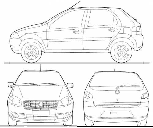 fiat palio dimensions the fiat car