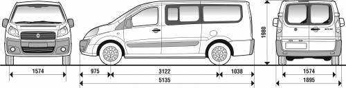 blueprints cars fiat fiat scudo 5 6 seater panorama. Black Bedroom Furniture Sets. Home Design Ideas