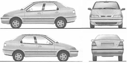 Fiat Siena elx 1.3 (2003)