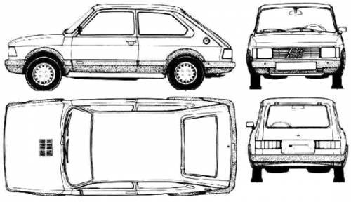 Fiat Spazio TR (Argentina) (1986)