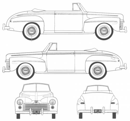 1948 ford blueprints