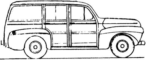 blueprints  u0026gt  cars  u0026gt  ford  u0026gt  ford c11adf station wagon  ca   1941
