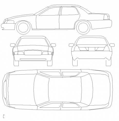 blueprints  u0026gt  cars  u0026gt  ford  u0026gt  ford crown victoria