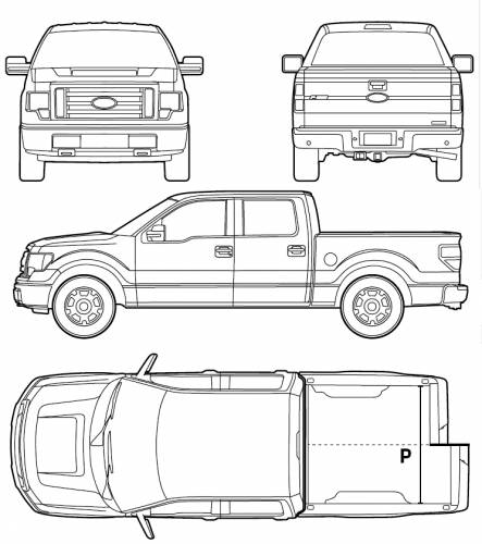 Vector requests ford f 150 pick up double cab 2012 ford f 150 pick up double cab 2012 freerunsca Choice Image