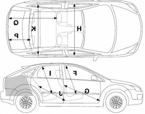 Toyota Fj Cruiser Air Conditioning Diagram as well Skoda Fabia Sedan Wiring Diagrams further 39011 2006 Ford Focus Estate Dimensions as well Hyundai towbar further . on 2014 ford focus hatchback interior