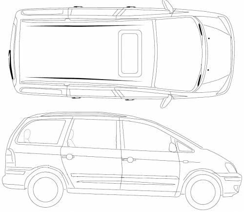 dimension garage  ford galaxy dimensions