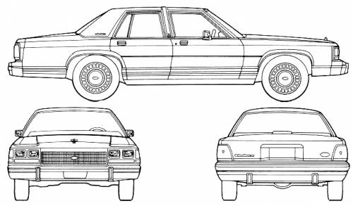 ford crown victoria blueprint