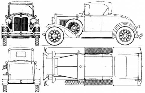 blueprints cars ford ford model a runabout Ford Model A Specifications ford model a runabout