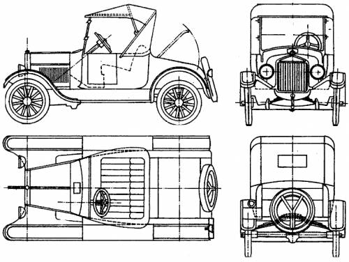 Ford Model-T (1923)