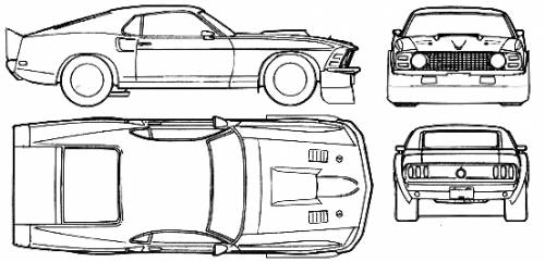 The blueprints blueprints cars ford ford mustang mach ford mustang mach i shadowfast 1969 malvernweather Image collections