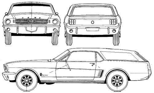 blueprints  u0026gt  cars  u0026gt  ford  u0026gt  ford mustang wagon  1965