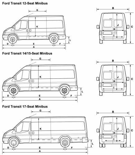 ford transit blueprints. Black Bedroom Furniture Sets. Home Design Ideas
