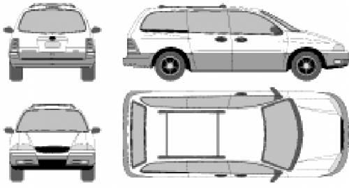 blueprints  u0026gt  cars  u0026gt  ford  u0026gt  ford windstar  2000
