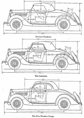blueprints  u0026gt  cars  u0026gt  ford  u0026gt  the sportier 1938 fords