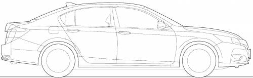 The blueprints blueprints cars honda honda accord 2013 honda accord 2013 sciox Image collections