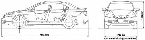 Honda Accord Saloon (2006)
