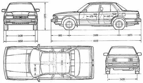 Honda Accord Sedan 1982