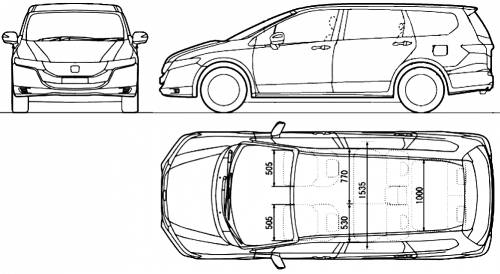 the blueprints cars honda honda