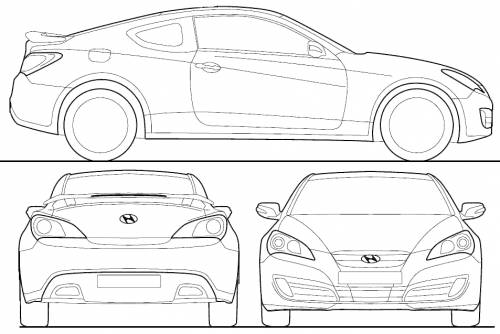 The Blueprints Com Blueprints Gt Cars Gt Hyundai Gt Hyundai
