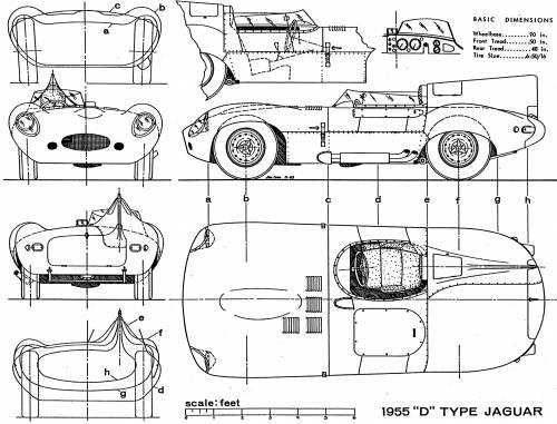 Чертежи и схемы любого автомобиля. продолжение каталога.  AC Cobra Daytona (1963).  AC 3000 ME (1979) .