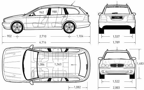 the blueprints cars jaguar jaguar x. Black Bedroom Furniture Sets. Home Design Ideas