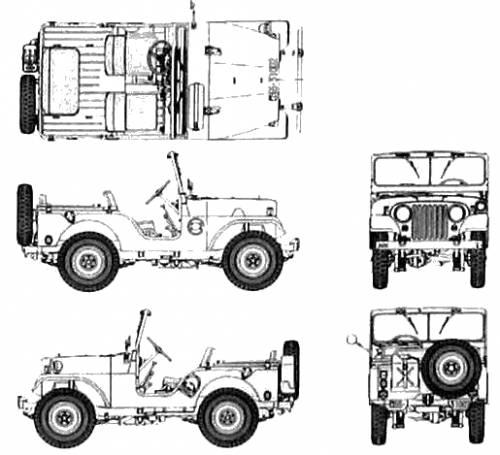 Jeep M38 (CJ 5)