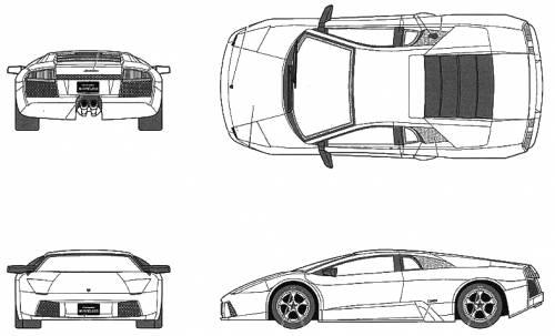 Lamborghini murcielago dimensions