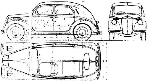 Blueprints > Cars > Lancia > Lancia Ardea (1939)