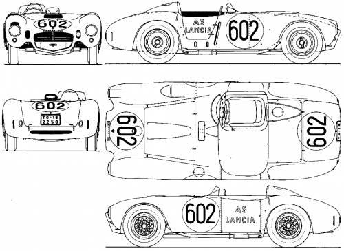 Lancia D24 Spyder Group S 1953 Racing Cars