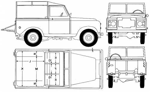 blueprints  u0026gt  cars  u0026gt  land rover  u0026gt  land rover 88 s2  1973