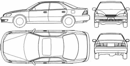 Lexus es300 dimensions