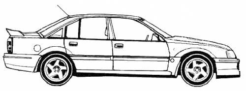 the blueprints cars lotus lotus carlton omega a. Black Bedroom Furniture Sets. Home Design Ideas