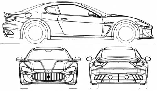 Alleged Patent Drawings For The 2014 Maserati Quattroporte