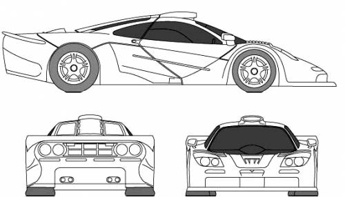 The-Blueprints.com - Blueprints > Cars > McLaren > McLaren ...